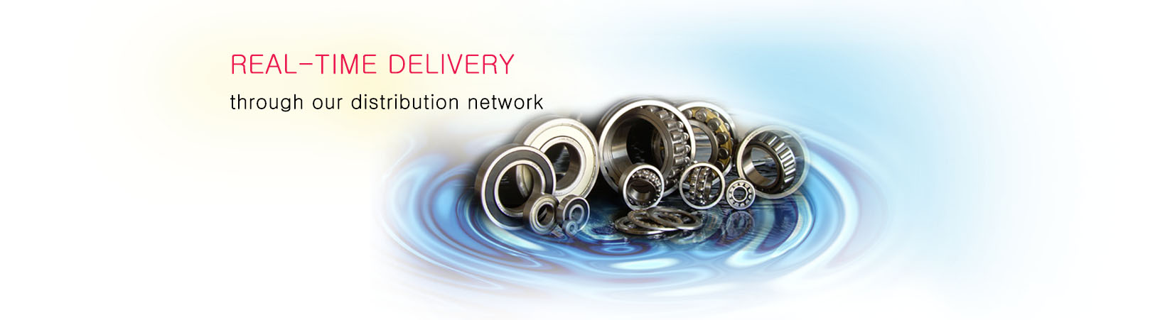 Eurasia Bearings' wide distribution network helps in providing real-time delivery of bearing at your doorstep